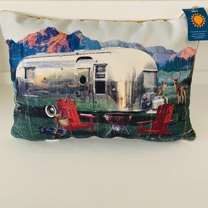 NWT Airstream Camper Pillow